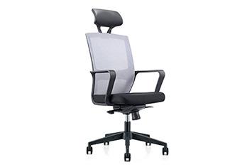 职员椅-办公职员椅-网布滑轮椅-员工旋转椅