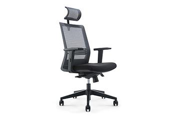 升降电脑椅-网布滑轮椅-办公椅