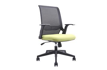 办公职员椅-网布滑轮椅-办公会议椅