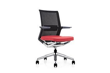 办公会议椅-网布职员办公椅-员工转椅