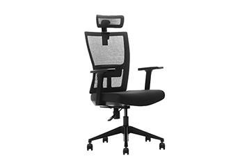 人体工学电脑椅-办公椅子-网布透气转椅-员工椅