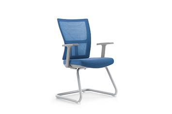 员工椅-办公椅会议椅-带写字板会议椅-网布椅