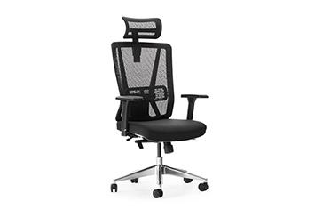 人体工学电脑椅-办公椅扶手-职员网椅-椅子图片