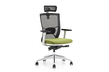 气压升降椅-网布滑轮椅-电脑职员椅-主管椅