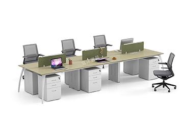 员工桌-办公桌尺寸-屏风办公桌-办公桌隔断-办公桌安装