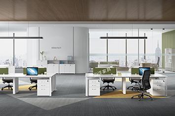 组合办公桌-员工桌-职员桌-定做员工桌-创意办公桌