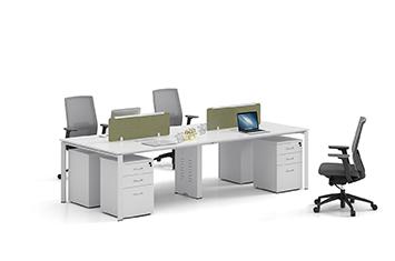 员工组合桌-桌子图片-办公组合桌-屏风办公桌-员工桌设计