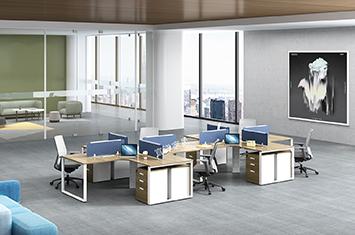员工工作桌-屏风办公桌-电脑办公桌-办公桌隔断-办公桌家具