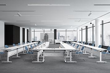 员工培训桌-培训折叠桌-培训桌尺寸-上海培训桌厂家直销