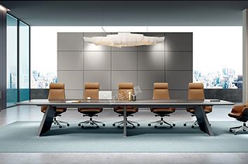 实木会议桌-多人会议桌-会议桌家具-油漆会议桌-会议桌厂家