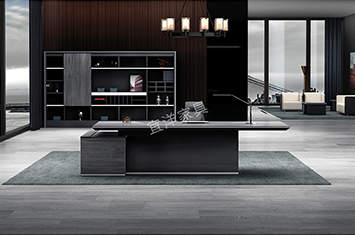 班台-上海实木桌-办公室大班台-办公家具班台-班台桌