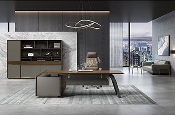 实木老板桌-实木桌-办公桌厂家-上海办公桌厂家定制