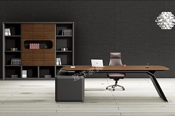 办公家具大班台-办公大班台-大班台定制-实木桌