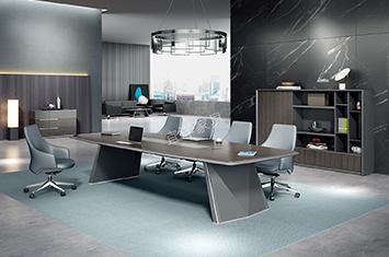 长条会议桌-大型会议桌-办公会议桌-办公桌家具-会议桌
