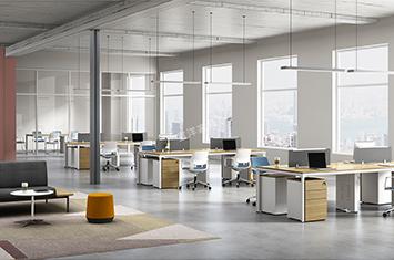 办公组合桌-创意组合桌-员工桌-屏风办公桌-办公桌隔断