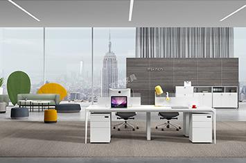 办公屏风桌-屏风办公桌-屏风隔断办公桌-屏风卡位办公桌