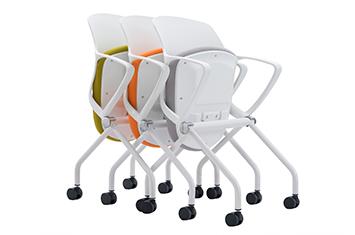 网布椅-办公椅高度-可折叠培训椅-网布培训椅厂家