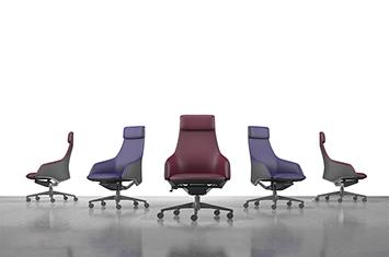 老板椅-电脑椅办公椅-实木办公家具-老板办公椅-上海办公家具